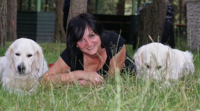 Beata Kulisiewicz i jej psy