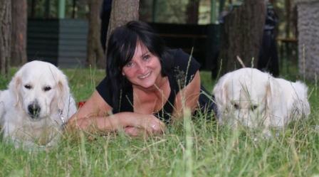 Beata z psami